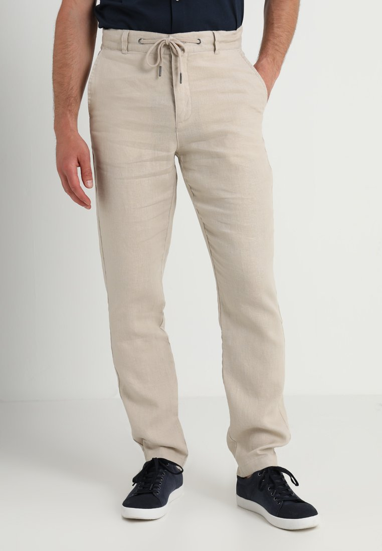 Lindbergh - PANTS - Trousers - sand