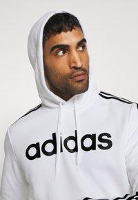 adidas Performance - Hættetrøjer - white/black - 3