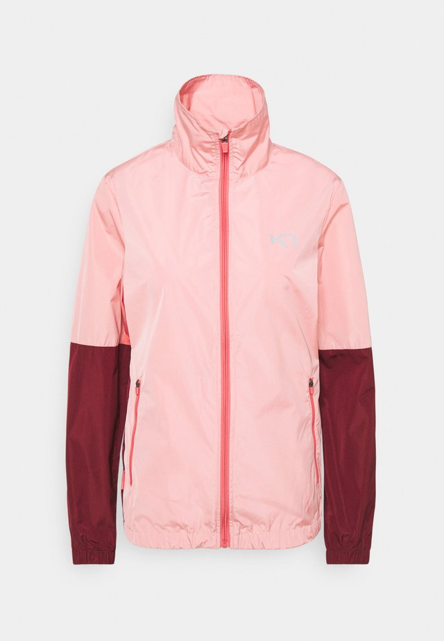 NORA JACKET - Kurtka Outdoor - light pink