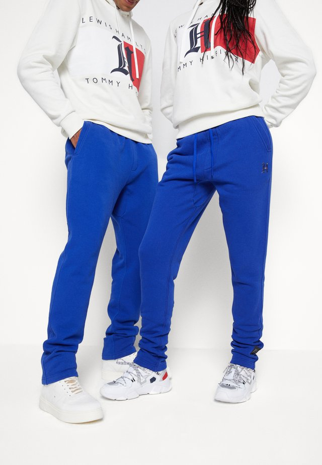 LEWIS HAMILTON UNISEX PCR SWEATPANTS - Pantaloni sportivi - sapphire blue