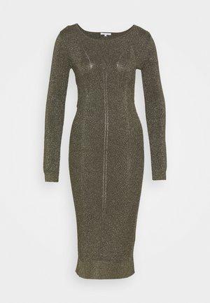 OLIV DRESS - Strikket kjole - green