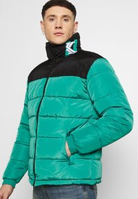 Karl Kani - BLOCK REVERSIBLE PUFFER JACKET - Winter jacket - turquoise - 6