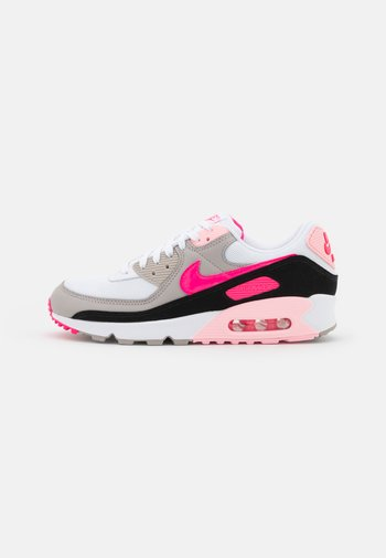 AIR MAX 90 - Zapatillas - white/hyper pink/black/college grey