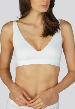 BÜGELLOSER BH SERIE MOOD - Triangle bra - weiss