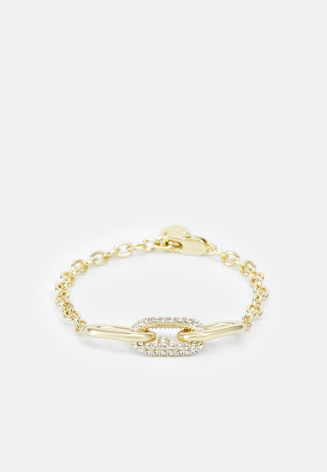 PAVE LOGO BRACELET - Bracelet - gold-coloured