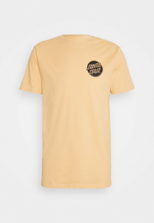 CONTRA DOT EXCLUSIVE - T-shirt con stampa - light orange