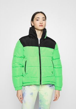 OG BLOCK REVERSIBLE PUFFER JACKET - Winter jacket - green