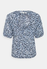 ONLY - ONLPELLA OPEN BACK - Print T-shirt - vintage indigo - 1