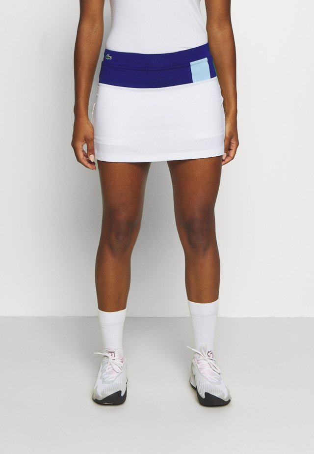 TENNIS SKIRT - Urheiluhame - cosmic/white/greenfinch