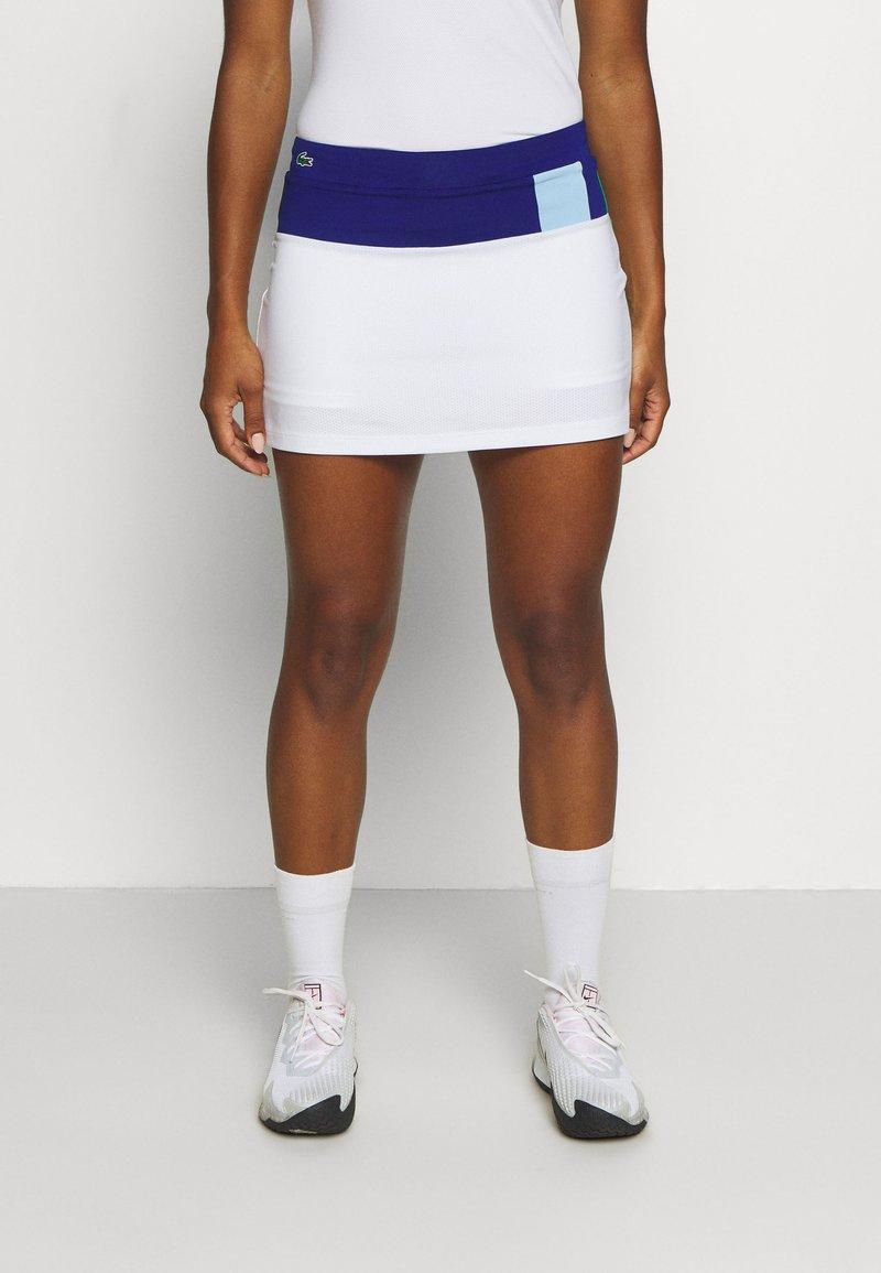 Lacoste Sport - TENNIS SKIRT - Sportovní sukně - cosmic/white/greenfinch