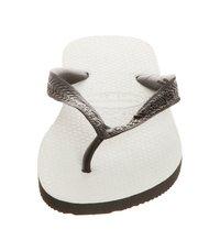 Havaianas - TRADICIONAL - Pool shoes - White, Black - 5