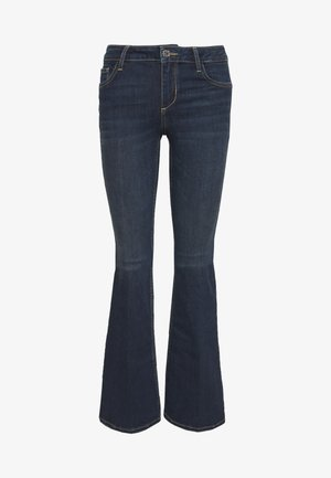 UP BEAT - Bootcut jeans - blue arboga wash