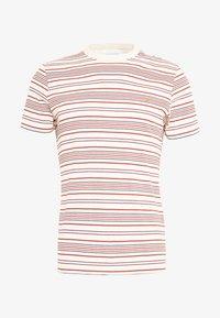 Farah - ROSEDALE TEE - T-shirt z nadrukiem - cream - 4