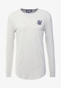 SIKSILK - LONG SLEEVE GYM TEE - Camiseta de manga larga - snow marl - 3