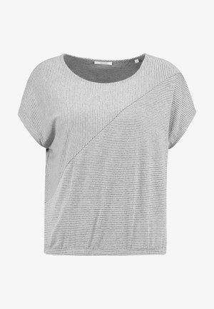 SANJI - T-shirts med print - hazy fog melange