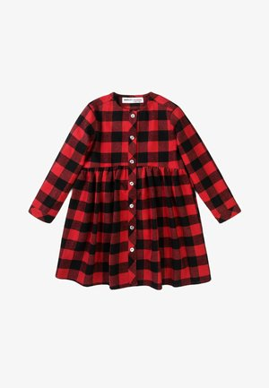 BRUSHED CHECK - Blouse - red/black