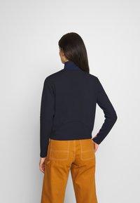 G-Star - NOSTELLE BIKER HALFZIP - Zip-up hoodie - servant blue/mazarine blue - 2