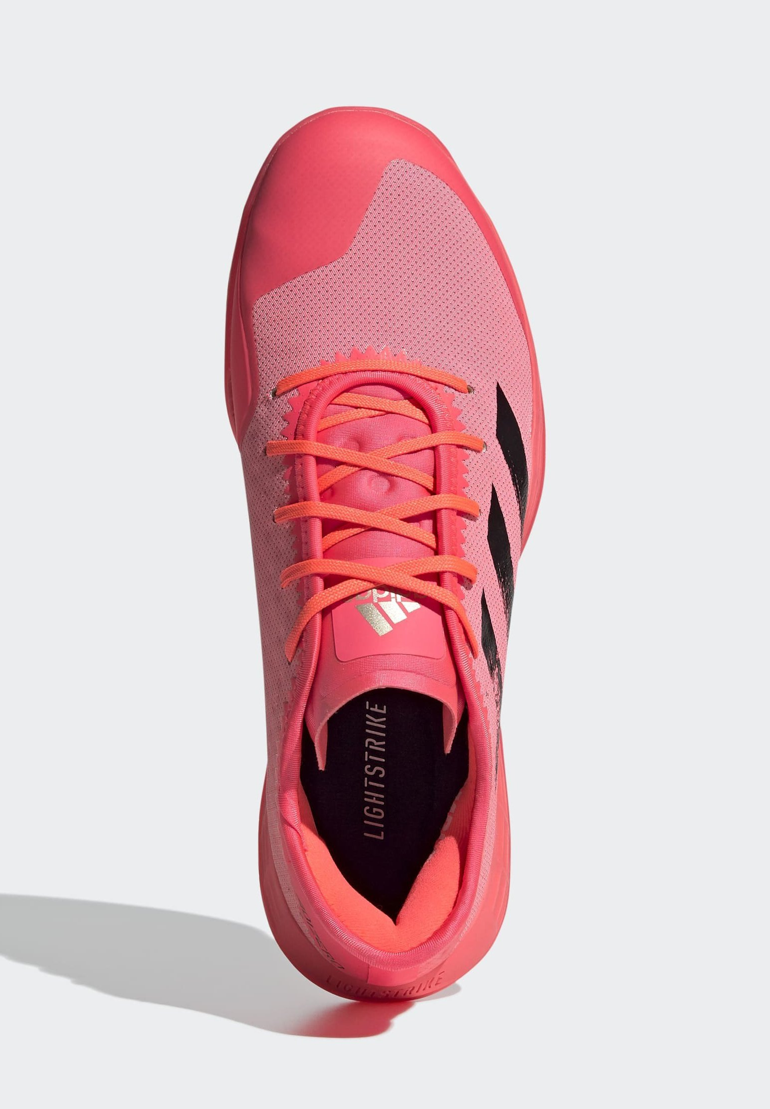 adidas Performance ADIZERO LIGHTSTRIKE INDOOR SPORTS SHOES - Handballschuh - sigpnk/cblack/coppmt/pink - Herrenschuhe sPvD7