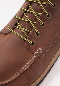 Birkenstock - MARTON - Lace-up ankle boots - roast