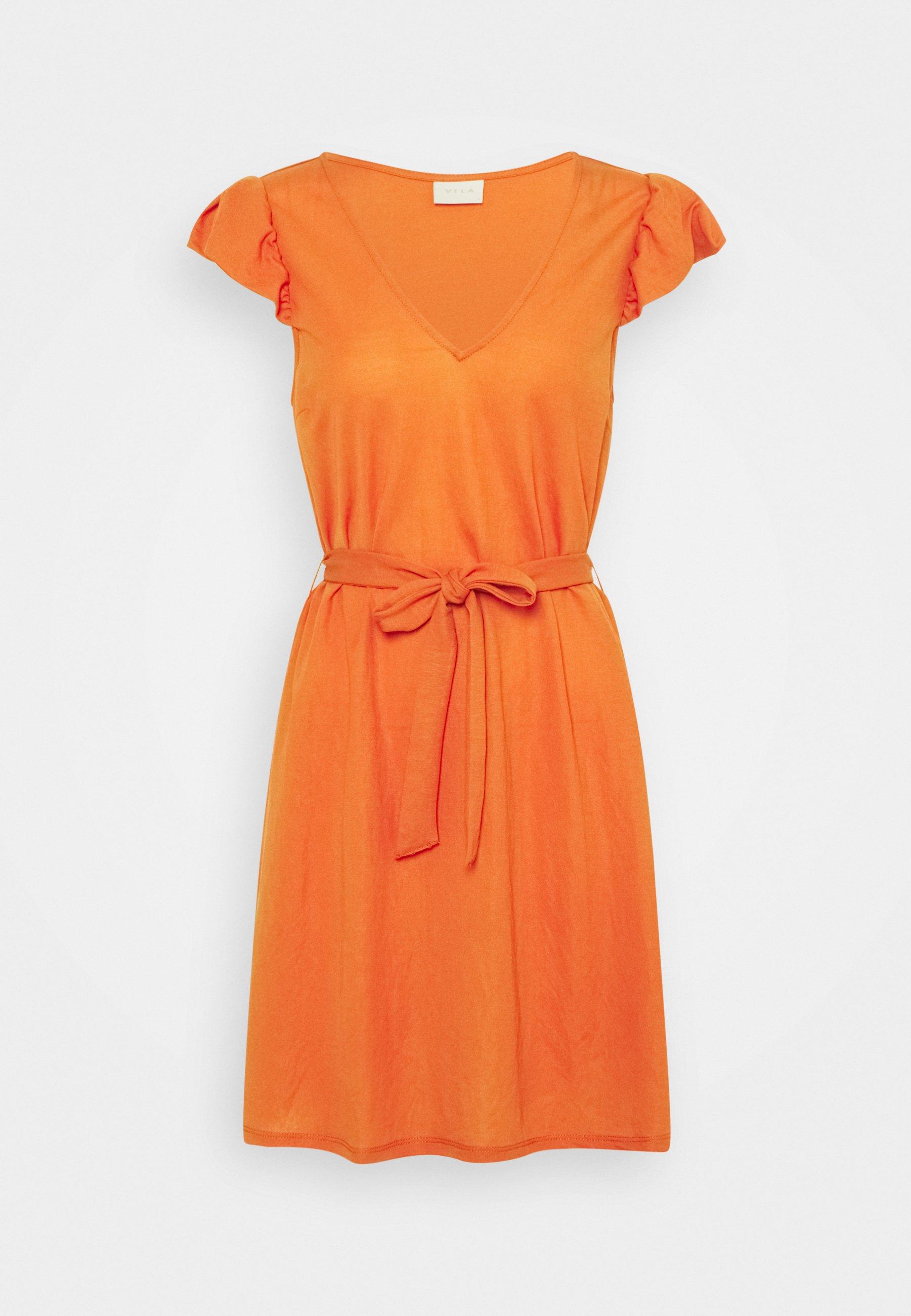 Women VIWANDERA V NECK SHORT DRESS - Jersey dress