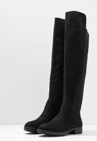 Anna Field - Stivali sopra il ginocchio - black - 4