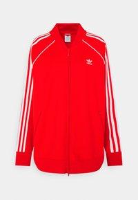 adidas Originals - TRACKTOP - Giacca sportiva - red - 3