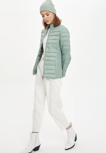 Winter jacket - turquoise