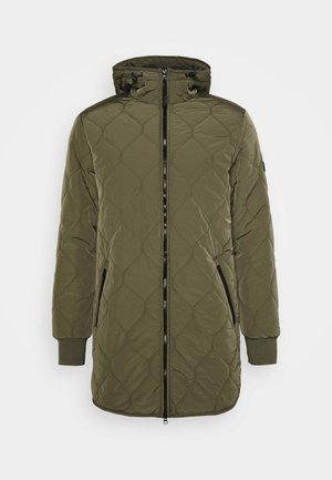 UNDERLAYER JACKET - Cappotto corto - olive night green
