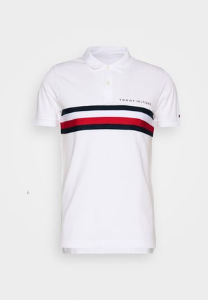 GLOBAL CHEST TAPE SLIM - Polo - white
