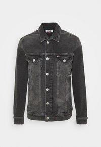 Tommy Jeans - REGULAR TRUCKER - Denim jacket - grey - 4