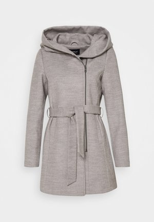 ONLCANE COAT - Cappotto corto - light grey melange