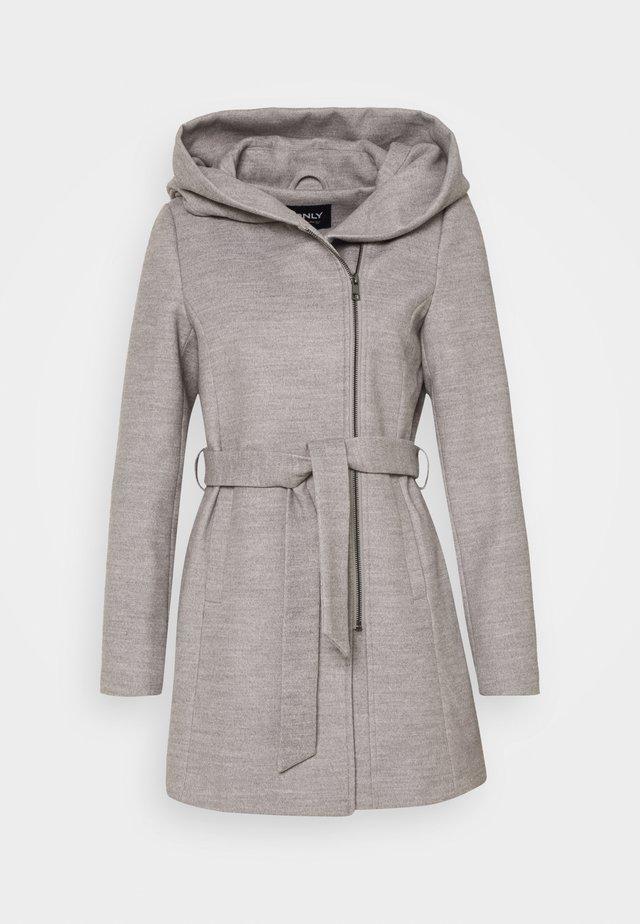 ONLCANE COAT - Kurzmantel - light grey melange
