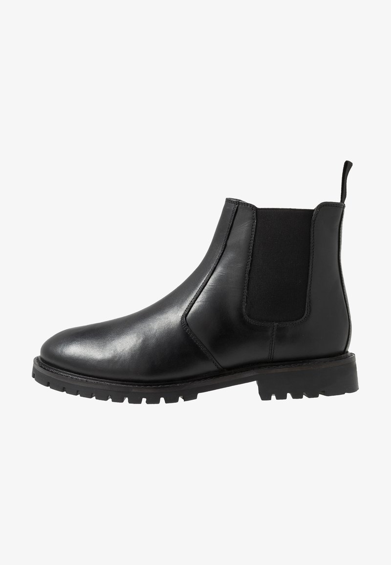 Jacamo - EXTRA WIDE CHELSEA BOOT WITH INSIED ZIP - Classic ankle boots - black