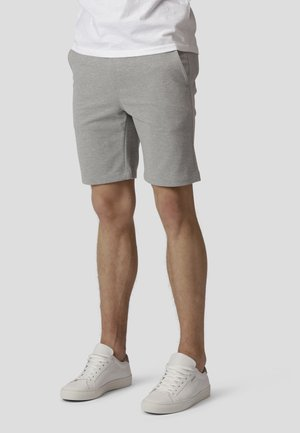 MILANO JERSEY SHORTS - Shorts - light grey mel