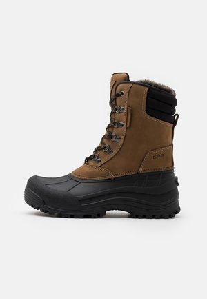 KINOS WP - Winter boots - castoro