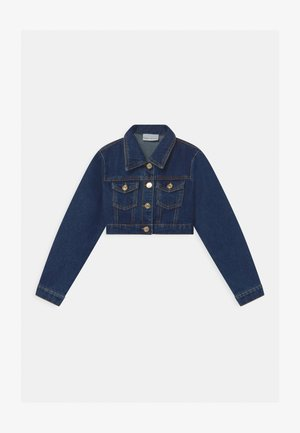 CROP FLIRTING - Džínová bunda - blue denim