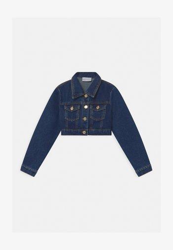 CROP FLIRTING - Denim jacket - blue denim