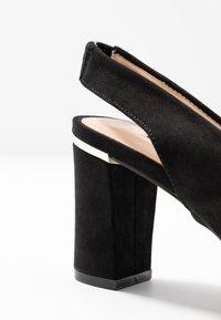 Dorothy Perkins - EMILY BLOCK HEEL SLINGBACK COURT - Classic heels - black - 2