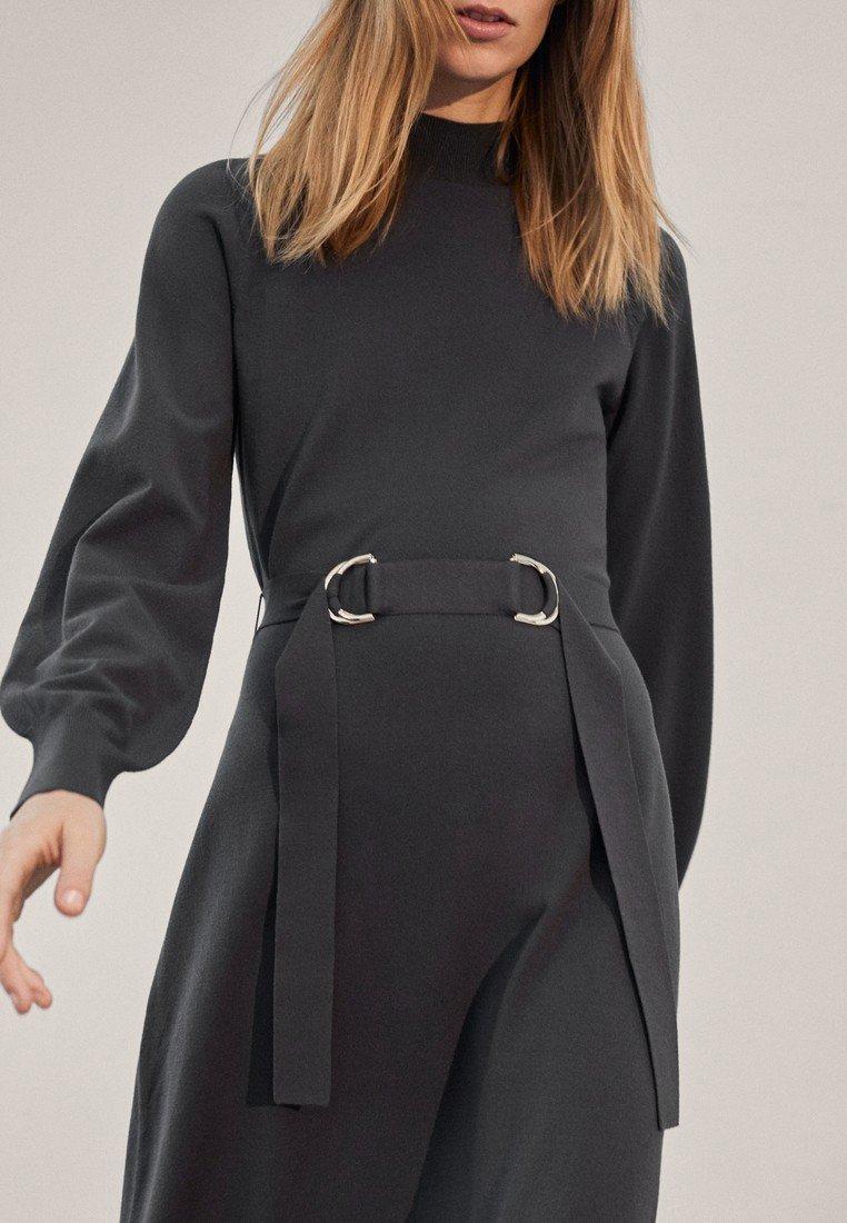 Massimo Dutti - Jumper dress - Dark Grey