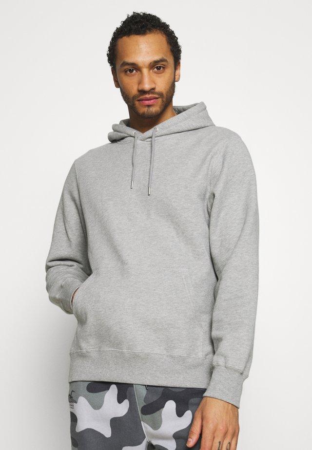 EDDIE CLASSIC HOODIE - Sweater - grey melange