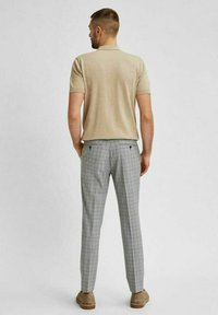 Selected Homme - Stoffhose - light grey - 3