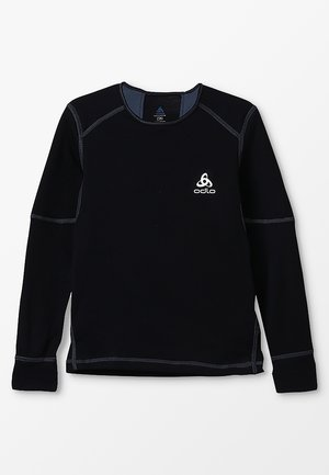 CREW NECK X-WARM               - Hemd - black