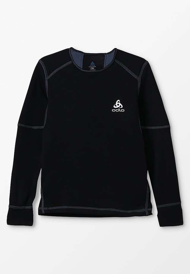 CREW NECK X-WARM               - Maglietta intima - black