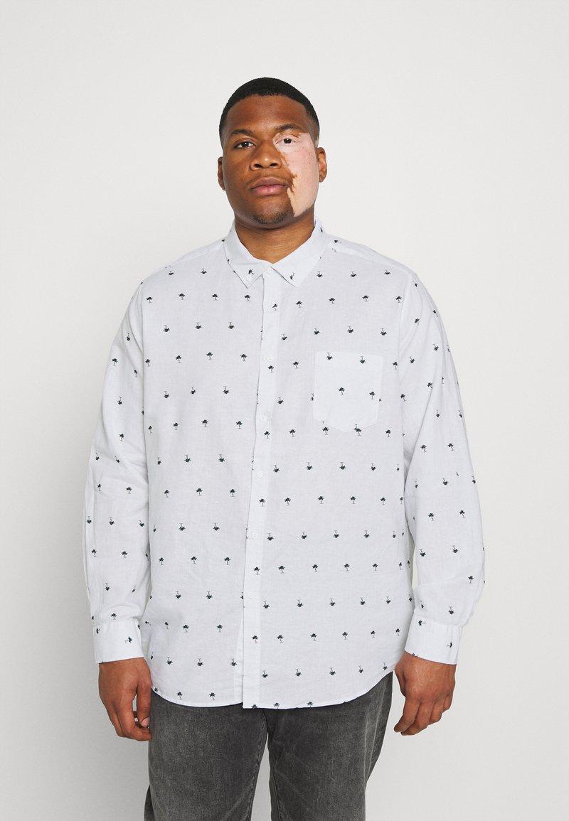 Johnny Bigg - FINLEY PRINT SHIRT - Shirt - white