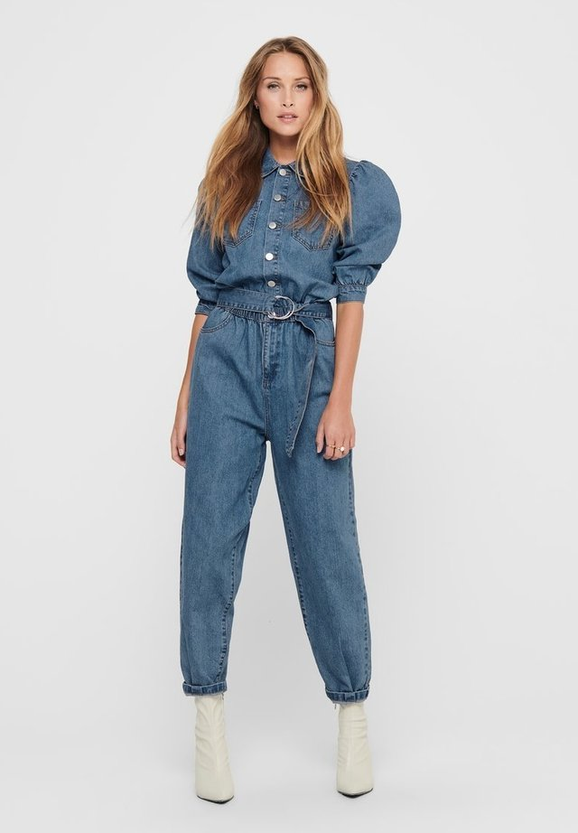 Tuta jumpsuit - medium blue denim