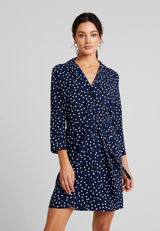 RUISSEAU DRESS - Shirt dress - black iris