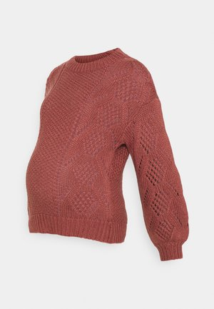 PCMPENELOPE - Strickpullover - apple butter