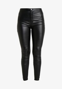 Lost Ink - HIGH WAIST - Jeggings - black - 4