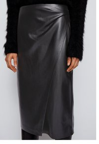 BOSS - VALEDY - Wrap skirt - black - 3