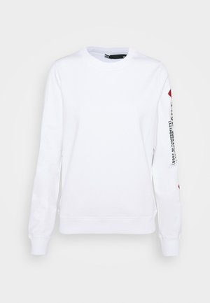 Sweatshirt - optical white
